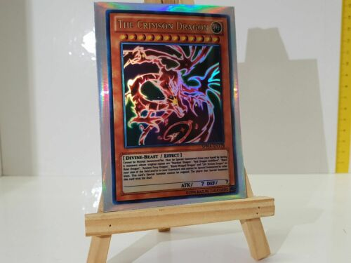 YuGiOh Orica The Crimson Dragon Holo GODS Custom Super Yu-Gi-Oh!