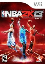 NBA 2K13 WII NEW! CLIPPERS, ROCKETS, LAKERS, HEAT, CAVALIERS, SPURS, CELTICS