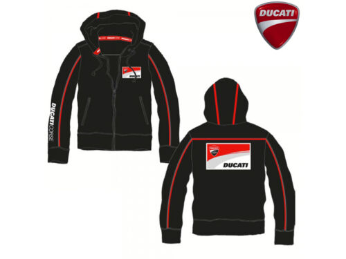 Ducati Noir 26006 Neuf Fermeture Official Corse 13 Capuche Éclair tvxw5xC8q
