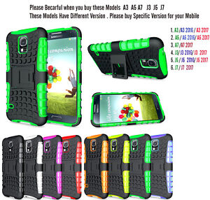 Shock-Proof-Armour-Hybrid-Gorilla-Stand-Hard-Case-Cover-for-Samsung-Galaxy-Model