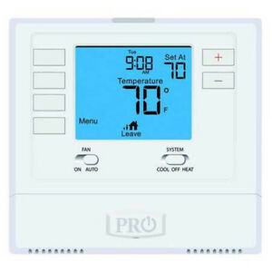 Programmable-Digital-Thermostat-PRO1-T705-Single-Stage-NEW-AL-AC-Air-Conditioner