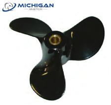 Solas 2211-100-15 Johnson Evinrude 20-25-28-30-35 HP Propeller 14T Alum 10x15 MD