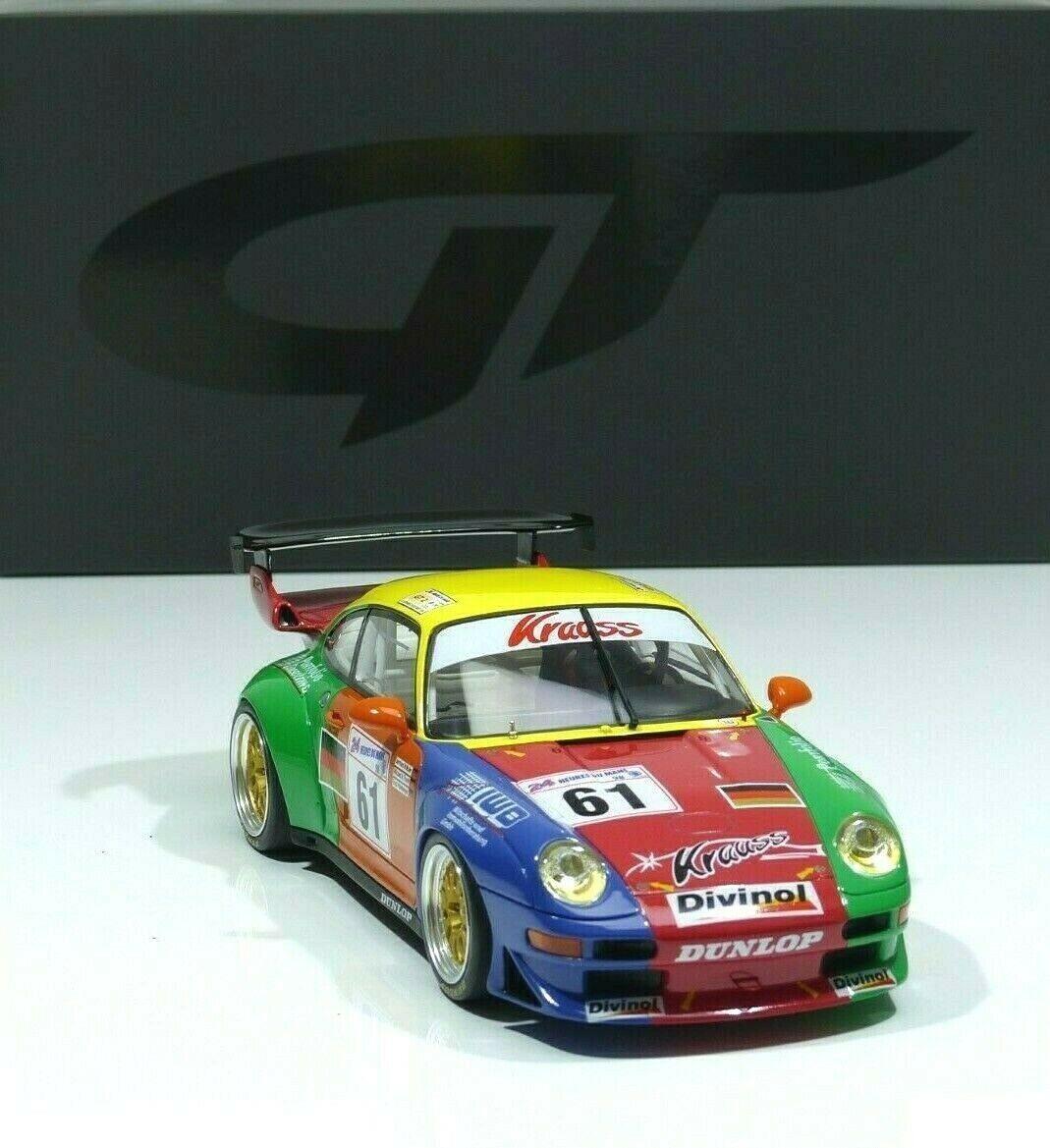 Porsche 911 993 gt2 gt2 gt2 Team Krauss  61 Muller 24 H le mans 1998 gt754 GT SPIRIT 1 18 4e7145