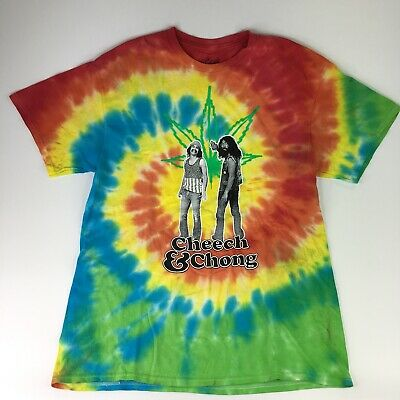 Cheech and Chong Men/'s Let/'s Get Lit Christmas Holiday Tee Novelty T Shirt M