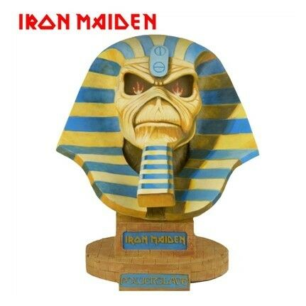 Neca Iron Maiden Life Size Bust Powerslave Limited Edition Eddie 1 1 NEW SEALED
