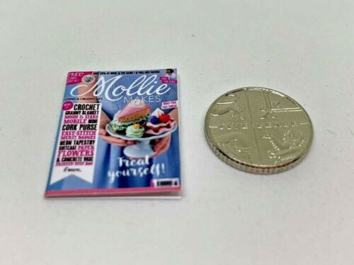 Handmade 1:12th Scale Miniature Dolls House Mollie Makes Craft magazine