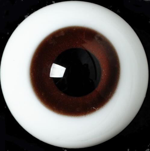 Gorgeous 18mm Deep Brown Glass BJD Eyes for Reborn//NewBorn BJD Doll