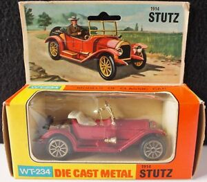 VINTAGE-TINTOYS-1914-STUTZ-1-48-SCALE-WT-234-NEAR-MINT-UK-DISPATCH