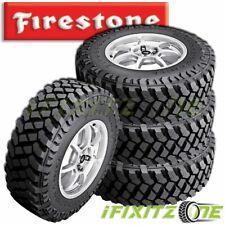 4 Firestone Destination Mt2 Lt28575r16 126123q 10 Ply Jeep Suv Truck Mud Tires