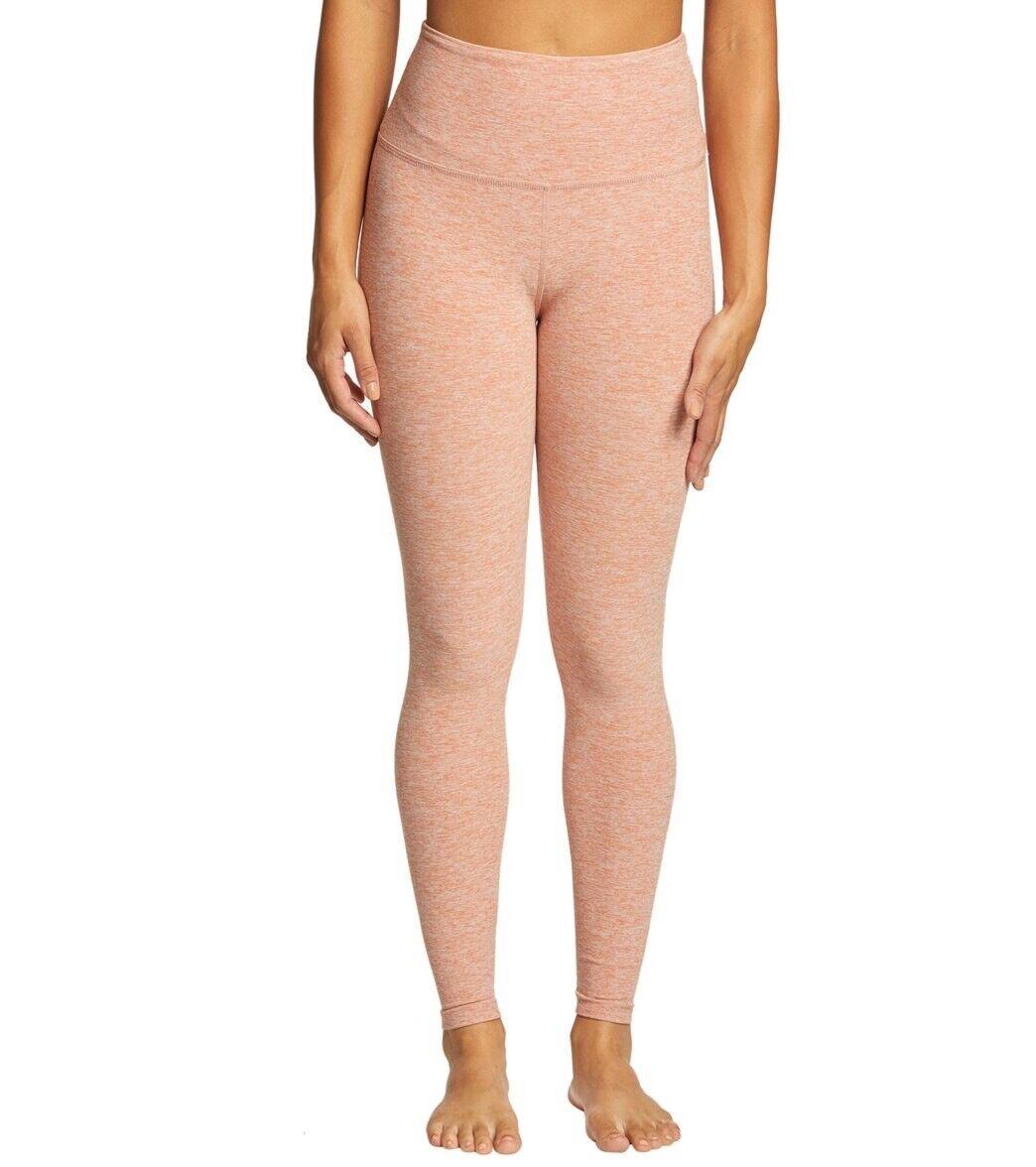 Beyond Yoga Take Me Higher Pink Rainwash spaceye legging NWT L