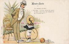 COMIC: Monte-Carlo - Les enfants terribles-undivided back -GUILLAUME-F.R.