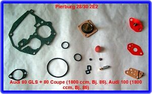 Solex-Pierburg-28-30-2E2-Vergaser-Rep-Satz-Audi-80-100-VW-Golf-Passat-Santana