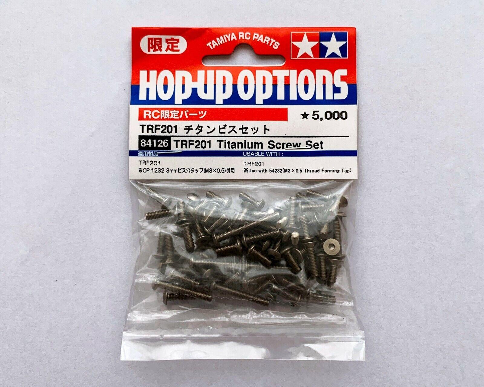 Tamiya TRF201 Titanium screw set 84126 (RC limited series)