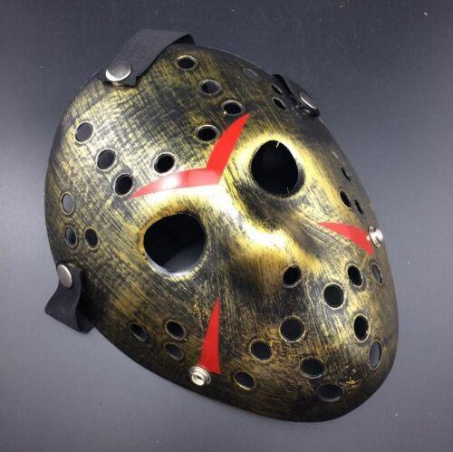 Jason Voorhees Scary Prop Hockey Halloween Cosplay Creepy Halloween