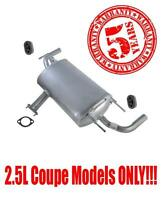 Rear Muffler For Nissan Altima 2008-2011 2.5l Models Only No Chrome Tips