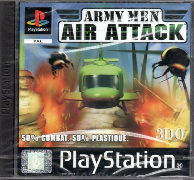 ARMY MEN AIR ATTACK / SONY PLAYSTATION PS1 / NEUF SOUS BLISTER D'ORIGINE / VF