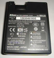 Charger ORIGINAL NIKON MH-25a en-EL15 REAL ORIGINAL NEW in France