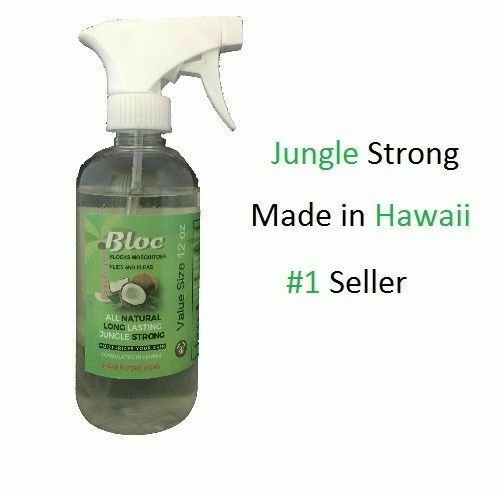 Bloc All Natural Mosquito Repellent 12oz Organic Healthy For