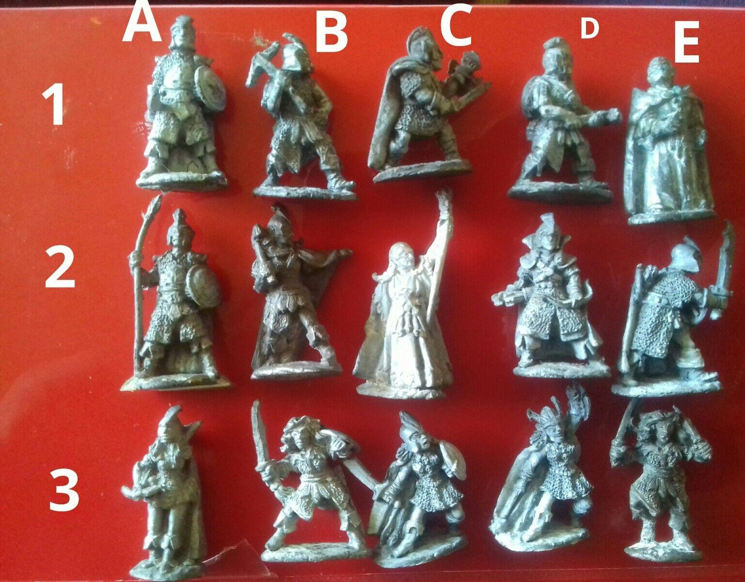 15x C09 dark elf warriors witch sorcerers citadel GW games workshop pre-slotta