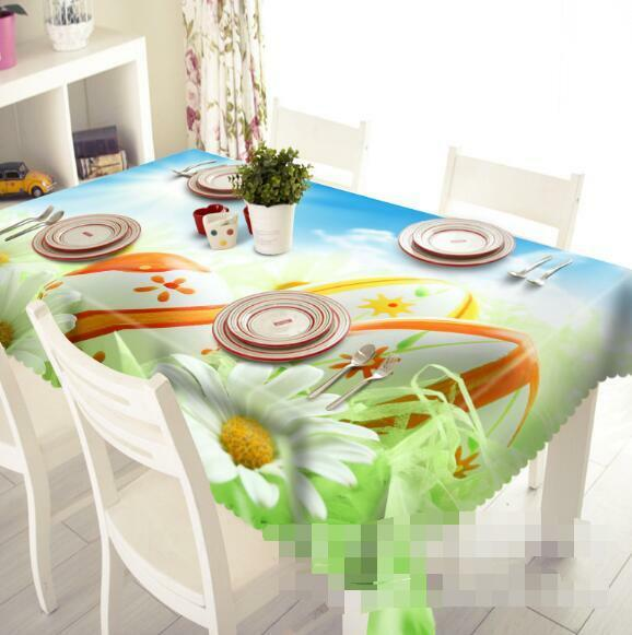 3D Flowers 131 Tablecloth Table Cover Cloth Birthday Party Event AJ WALLPAPER