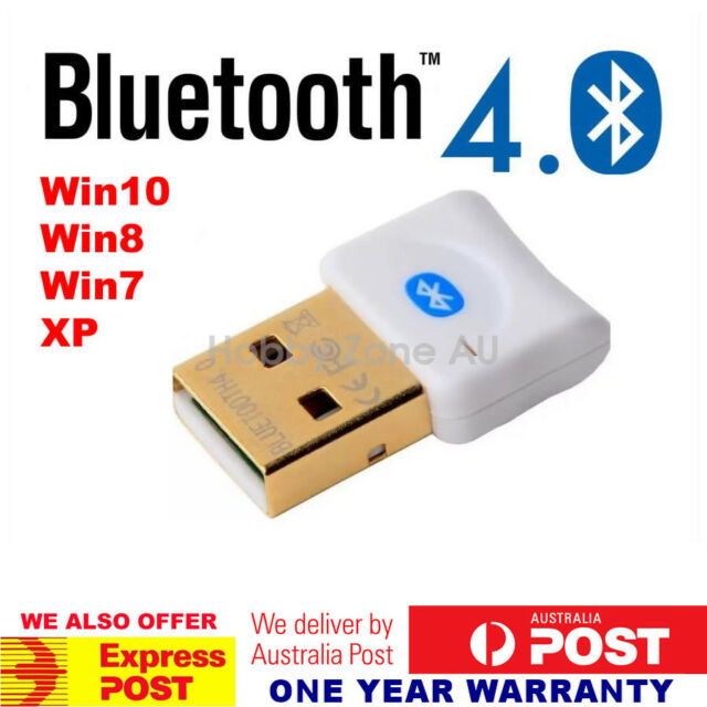 USB 2.0 Bluetooth V4.0 Dongle Wireless Adapter 3Mbps Speed PC Laptop A2DP EDR