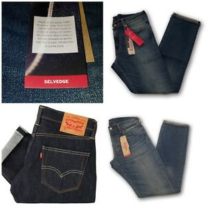 NEW-MENS-LEVIS-511-PREMIUM-SLIM-FIT-SELVEDGE-DENIM-JEANS-PANTS-ALL-SIZES