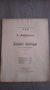 L-Boellmann-Minuetto-Gotico-Per-Organo-Spartito-A-Durand-A-Parigi-2-Per-1909