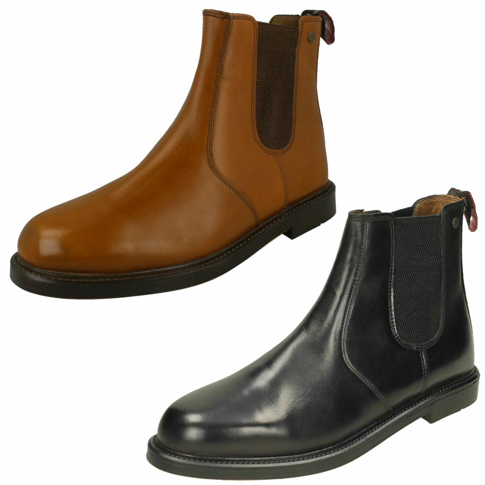 Para hombre HX Londres Slip On-Tobillo botas HX05