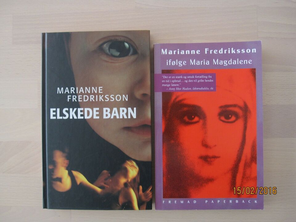 flere titler, Marianne Fredriksson , genre: roman