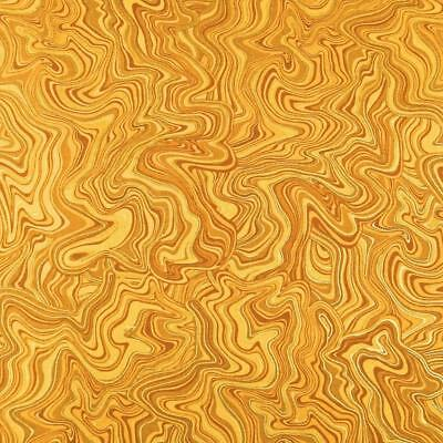 Gustav Klimt Geo charcoal gold metallic SRKM 17181 184 for Robert Kaufman 0.54yd