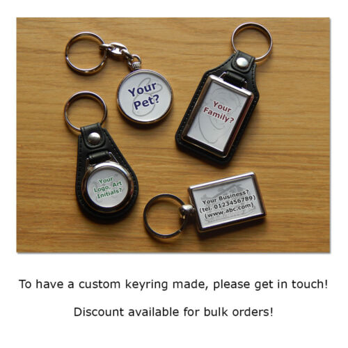LAMBORGHINI HURACAN Sports Car Koolart Chrome Keyring Picture Both Sides