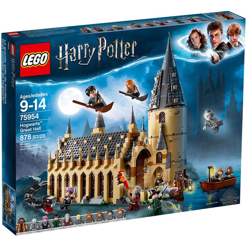 LEGO Harry Potter Hogwarts Salone Set di  costruzione 75954 NUOVO  nessun minimo