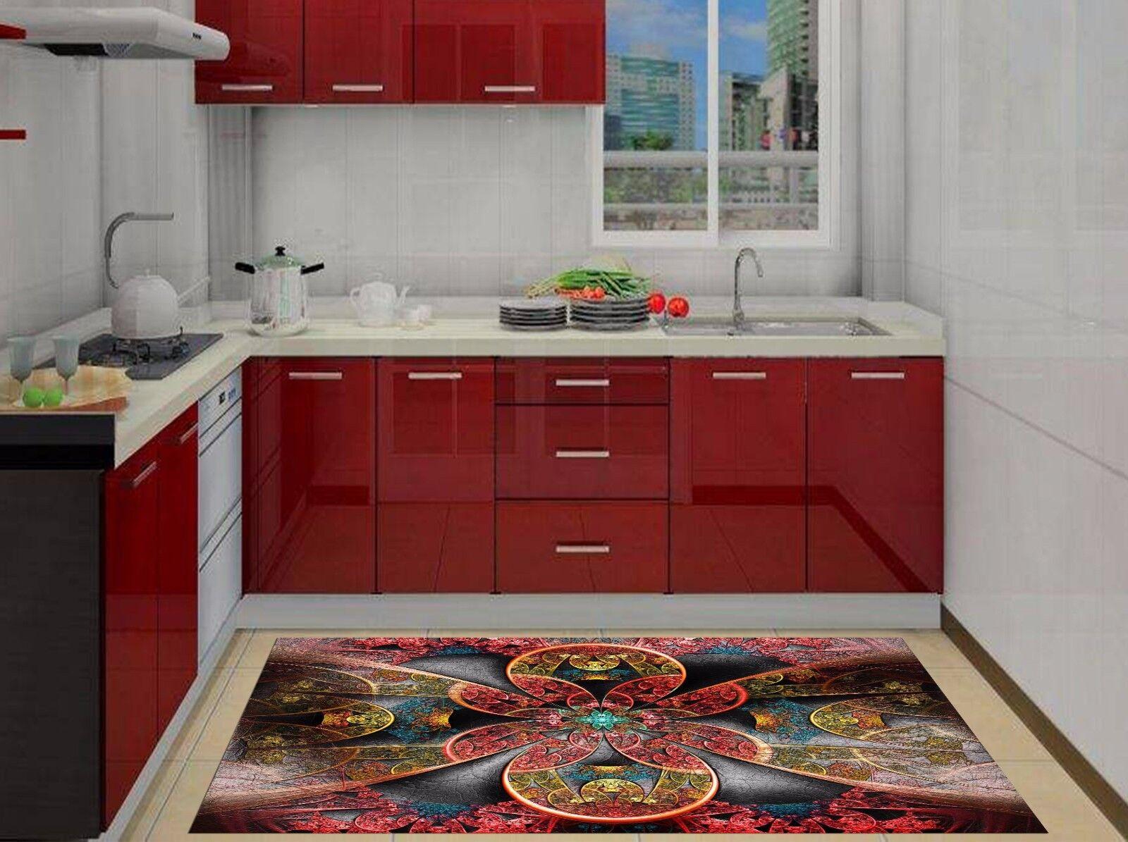 3D ROT Texture 78 Kitchen Mat Floor Murals Wall Print Wall AJ WALLPAPER AU Carly