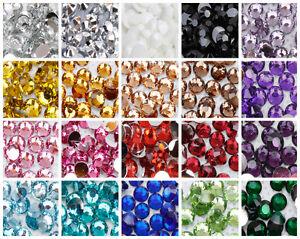 1000-Choose-Colour-Crystal-Flat-Back-Nail-Art-Face-Festival-Rhinestones-Gems
