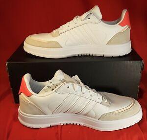 adidas courtmaster white size 75 pink women classic