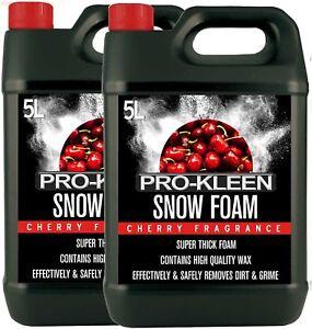 ProKleen Snow Foam Shampoo 10L Car Care Wax Wash Detailing pH Neutral High Gloss