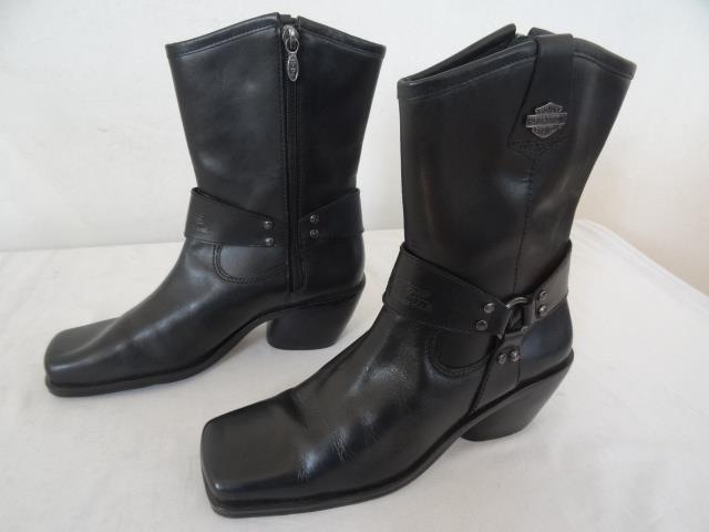 HARLEY DAVIDSON 84964 'Kimberley' MOTO botas negras Us 7   UK 5 EU 38 052 r