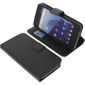 Funda-para-Archos-Access-50-color-3g-Book-Style-FUNDA-PROTECTORA-Gadget-Negro