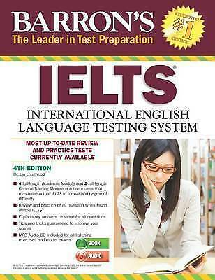 1 of 1 - Barron's IELTS with MP3 CD, 4th Edition