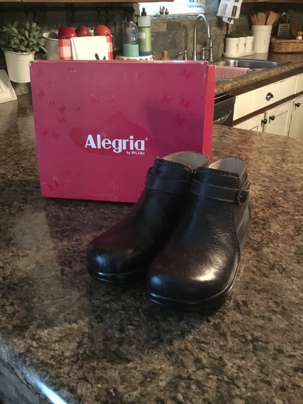 Alegria womens ankle boots 37