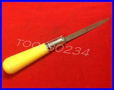 "New Nicholson 21667N Steel Machinists Scraper With Handle 7-1/4"" OAL USA MADE"