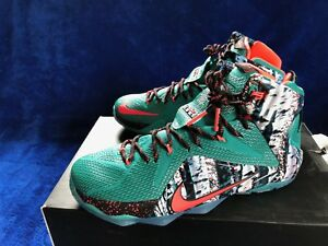 52497e11f164 Image is loading Nike-Air-Lebron-Xmas-XII-Edition-DS-sz-