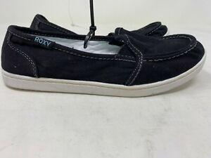 NEW-Roxy-Women-039-s-Lido-II-Slip-On-Flats-Black-ARJS600006-155AB-tz
