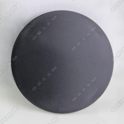 4 Universal Rueda de la aleación Tapacubos Para Aluminio Adornos-Negro Ø 60 Mm