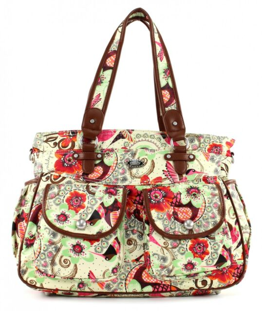 Oilily Cross Body Bag Tropical Birds Diaper