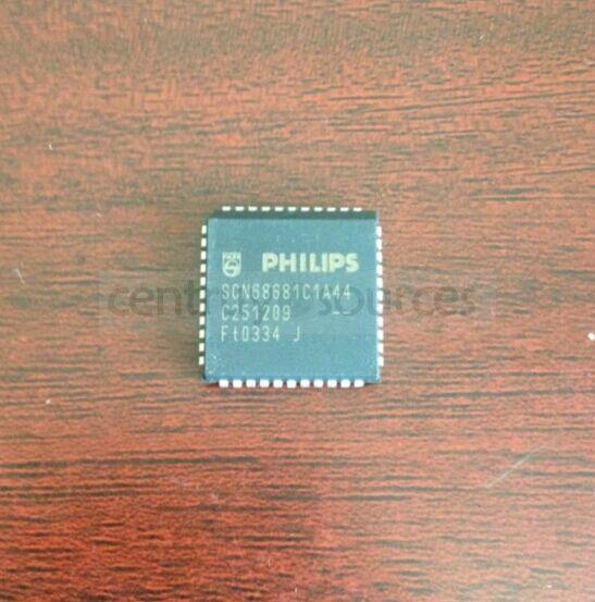 1PCS SCN68681C1A44 PHILIPS PLCC-44,Dual asynchronous
