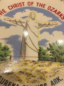Vintage-Christ-of-the-Ozark-039-s-Collector-039-s-Plate-10-034