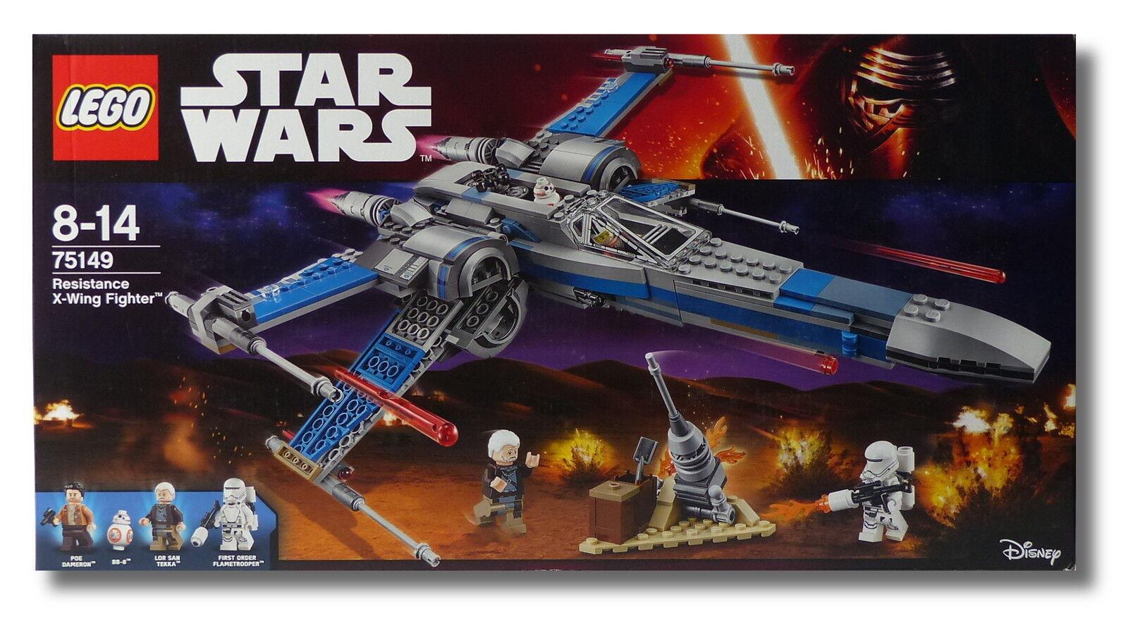 LEGO® Star Wars™ 75149 Resistance X-Wing Fighter™ Lor San Tekka NEU/OVP