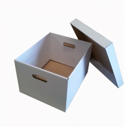 Archive Document File Cardboard Boxes Office Move Storage House Removal Box Lid