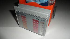 Piscine Chlore Ph Tablette Water Test Kit-afficher Le Titre D'origine Nouveau Design (En);
